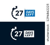 27 days left sign   emblem ...