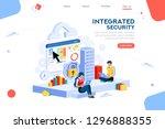 data services for innovation.... | Shutterstock .eps vector #1296888355