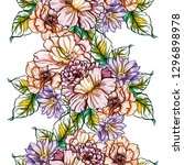 abstract elegance seamless... | Shutterstock . vector #1296898978