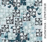 seamless pattern made up of...   Shutterstock .eps vector #1296913618