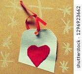 beautiful retro greeting card...   Shutterstock . vector #1296923662