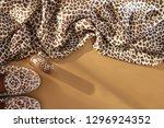 animal print fashion...   Shutterstock . vector #1296924352