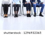 group of business people... | Shutterstock . vector #1296932365