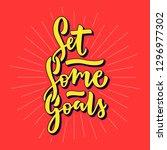 cute motivational quote design. ...   Shutterstock .eps vector #1296977302