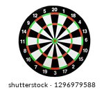 Dart arrow hitting in the...