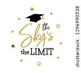 congrats graduates  class of... | Shutterstock . vector #1296990538