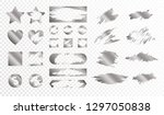 scratch cards of different... | Shutterstock .eps vector #1297050838