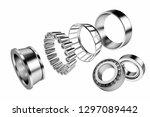 3d rendering. automotive... | Shutterstock . vector #1297089442