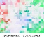 grunge frame. beautiful.... | Shutterstock . vector #1297133965
