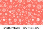seamless pattern with... | Shutterstock .eps vector #1297138522
