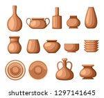 Set Of Clay Crockery....