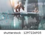 business analysis and... | Shutterstock . vector #1297226935
