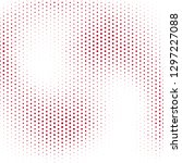 halftone designed abstract... | Shutterstock .eps vector #1297227088