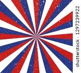 american patriotic background.... | Shutterstock .eps vector #1297239922
