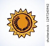 contest leader medalist modern... | Shutterstock .eps vector #1297240942