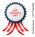 happy presidents day with... | Shutterstock . vector #1297246498