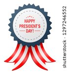 happy presidents day with...   Shutterstock .eps vector #1297246552