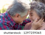 happy life and long lived...   Shutterstock . vector #1297259365