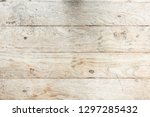old wood texture or background. | Shutterstock . vector #1297285432