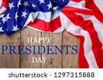 Happy Presidents' Day Text On...