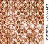 geometry texture classic modern ... | Shutterstock . vector #1297321345