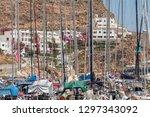 greece  tilos  07.22.2015.... | Shutterstock . vector #1297343092