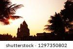 dakshineswar kali temple kolkata | Shutterstock . vector #1297350802