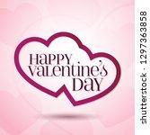 14 february valentine's day... | Shutterstock .eps vector #1297363858