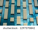 geometry in architecture... | Shutterstock . vector #1297370842