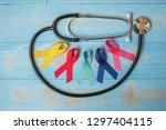 world cancer day  february 4 .... | Shutterstock . vector #1297404115