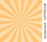 yellow abstract sunburst or...   Shutterstock .eps vector #1297492138