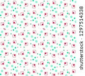 halftone color texture... | Shutterstock . vector #1297514338