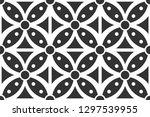 batik pattern collection ... | Shutterstock .eps vector #1297539955