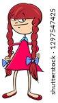 cartoon illustration of... | Shutterstock .eps vector #1297547425