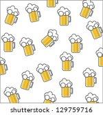beer background | Shutterstock .eps vector #129759716