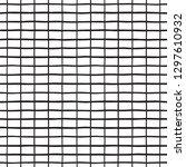 black and white rectangle grid  ...   Shutterstock .eps vector #1297610932
