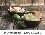 Fresh Guacamole Dip With Lime...