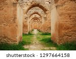 ruined royal stables in meknes  ... | Shutterstock . vector #1297664158