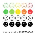 feedback vector concept. rank ... | Shutterstock .eps vector #1297706362