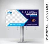 billboard design  banner for... | Shutterstock .eps vector #1297711285
