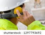 Construction Worker Wearing...