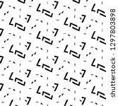halftone monochrome texture...   Shutterstock . vector #1297803898