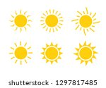 sun icon symbol illustration ...