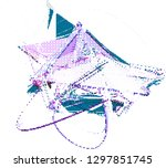 abstract vector background dot...   Shutterstock .eps vector #1297851745