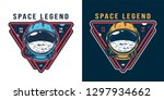 vintage galaxy colorful label...   Shutterstock .eps vector #1297934662