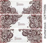 set of paisley bookmarks