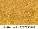 gold glitter texture background ... | Shutterstock . vector #1297953448