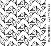 halftone monochrome texture... | Shutterstock . vector #1297978318
