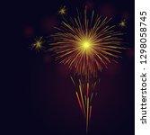 celebration multicolored... | Shutterstock . vector #1298058745