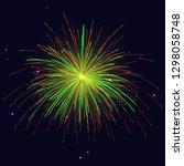 celebration sparkling vibrant... | Shutterstock . vector #1298058748